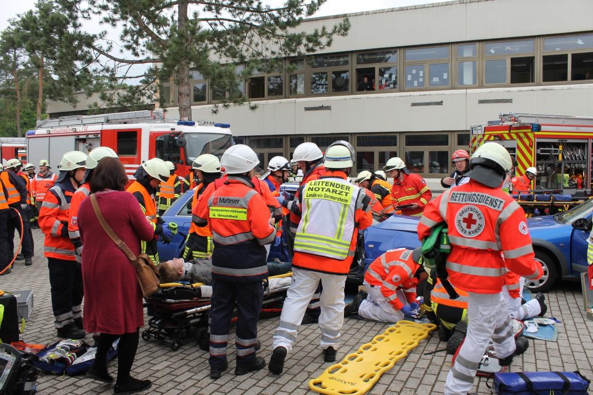 RescueWave_Einsatzübung_Massenkarambulage