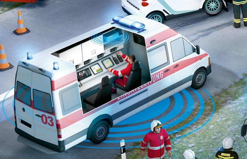 Rescuewave-Netzwerk wir angeschaltet